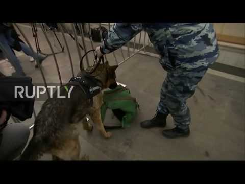 Russia: Moscow metro tightens security after St. Petersburg subway blast