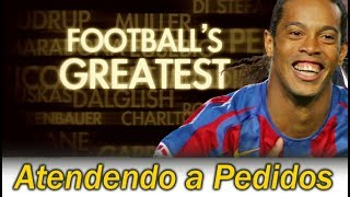 Ronaldinho Gaúcho * Football's Greatest Dublado * Os 50 Maiores Jogadores de Todos os Tempos