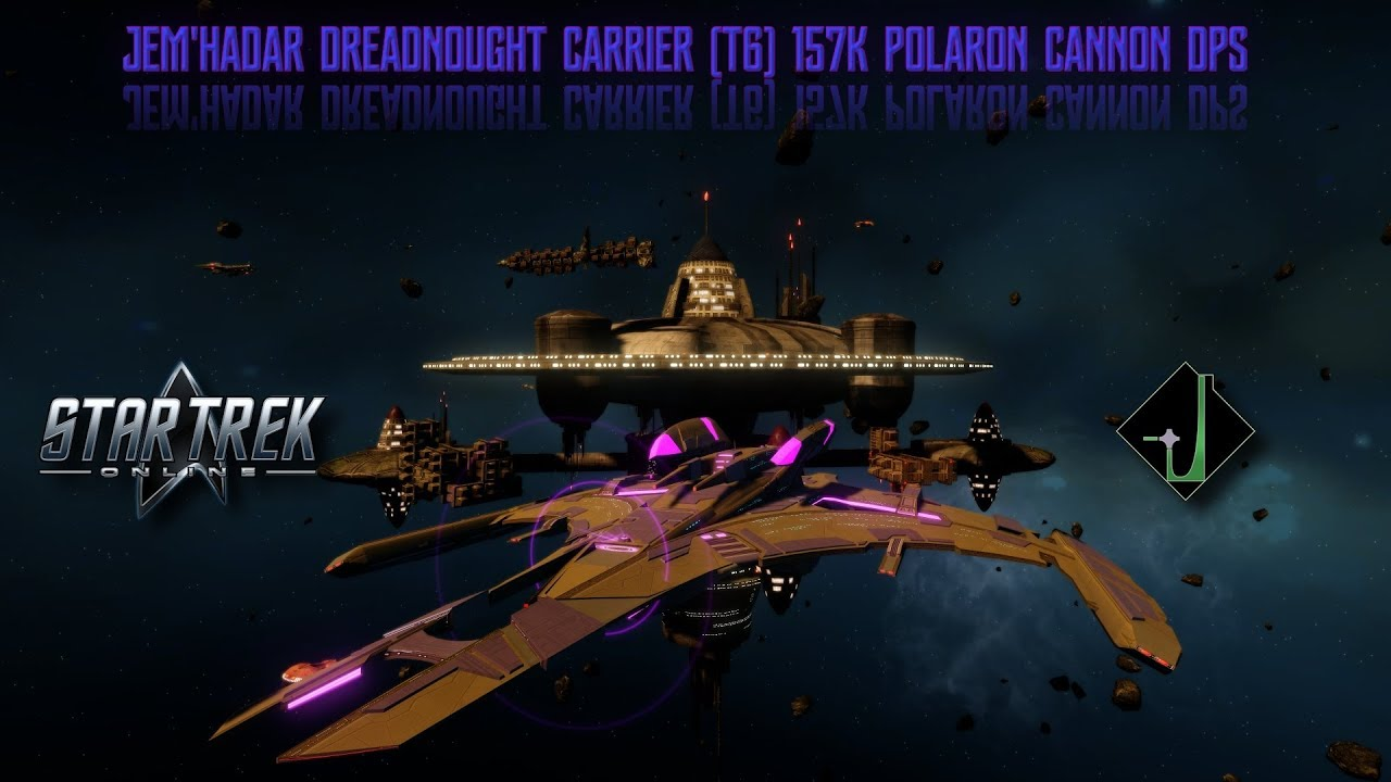 Star Trek Online Jemhadar Dreadnought Carrier T6 157k Polaron