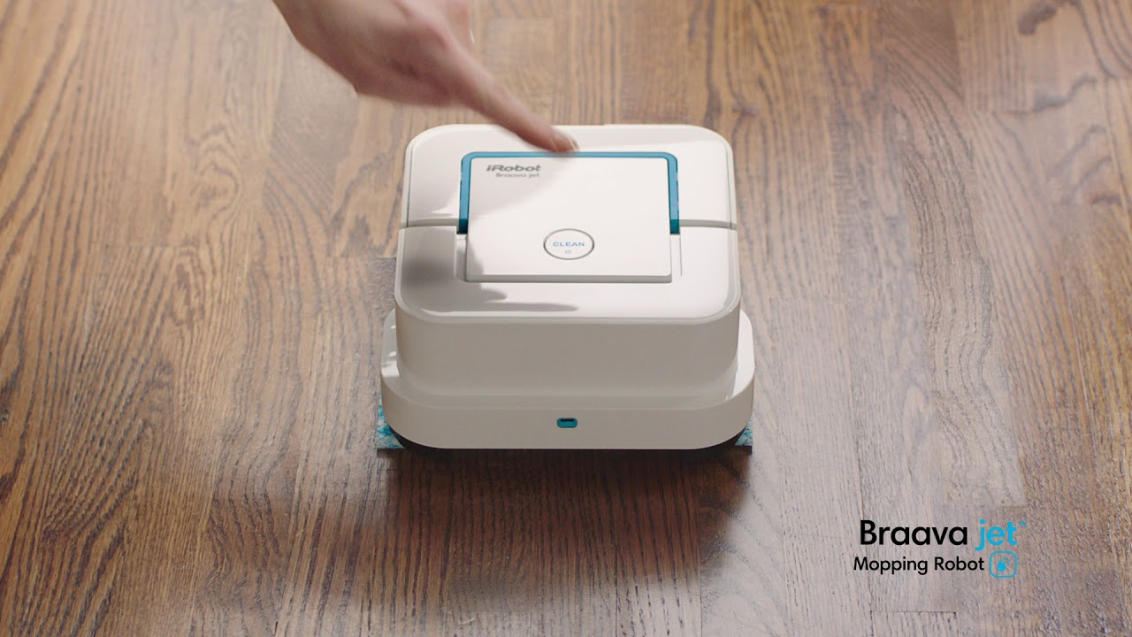 Irobot Braava Jet Mopping Robot Every Day Messes 30 Tv Spot