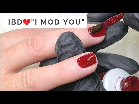 "Amazing Application of IBD Just Gel Polish ""I MOD YOU"""
