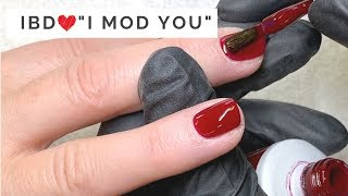 "Amazing Application of IBD Just Gel Polish ""I MOD YOU"""