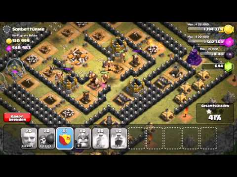 Level 50 - Clash of Clans - Single Player Campaign