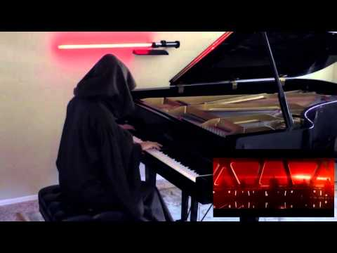 Star Wars: The Force Awakens trailer on piano