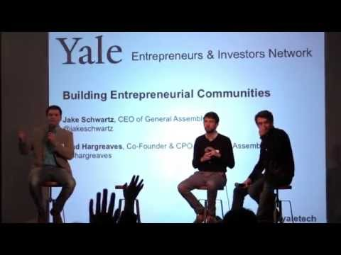 Building an Entrepreneurial Community in New Haven, New York, and Around the World
