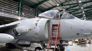RNAS Yeovilton Cobham Hall Storage & Repair Facility -  Jets 2018