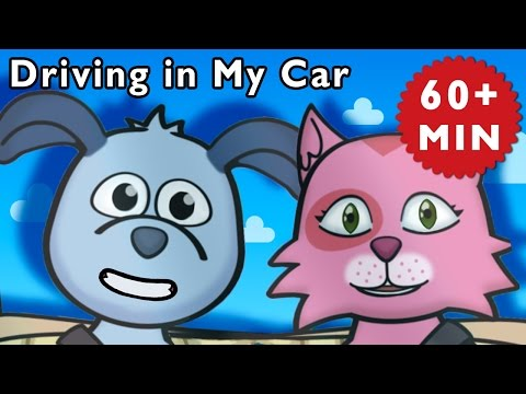 C Is for Car | Driving in My Car and More | Baby Songs from Mother Goose Club!