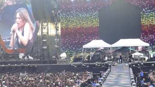 Lyves live, opening for Coldplay San Siro Milano 3 July 2017 - 1