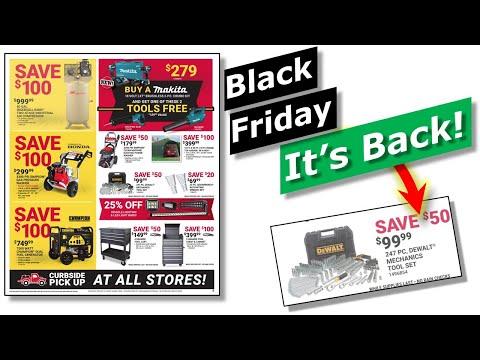 Black Friday Tool Deals Glitch Tractor Supply Hd Dewalt Makita 2020 Youtube