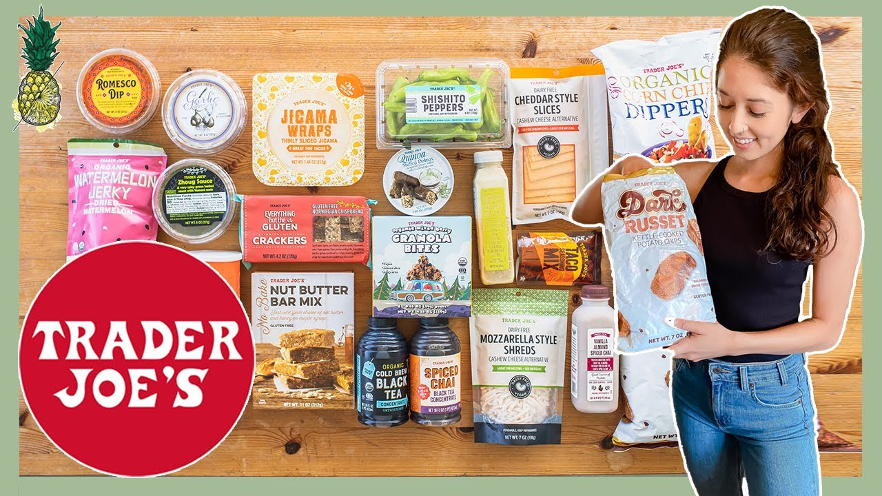 Taste Testing NEW Vegan Items at Trader Joe's