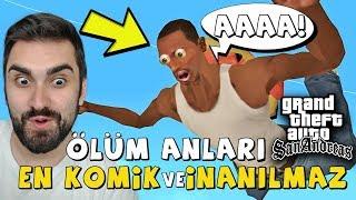 GTA SAN ANDREAS EN İNANILMAZ EN KOMİK ÖLÜMLER!