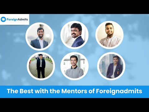 Let Mentors give Wings to your Dream of Overseas Education || International Mentors || ForeignAdmits