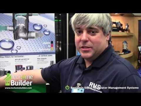 TecHome Builder: Clean Rainwater Harvesting