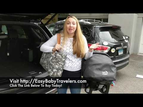 Easy Baby Travelers Leave the Bulky Diaper Bag in the Car