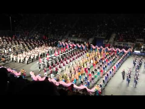 Romancing The Globe at the 2015 Edinburgh Royal Military Tattoo