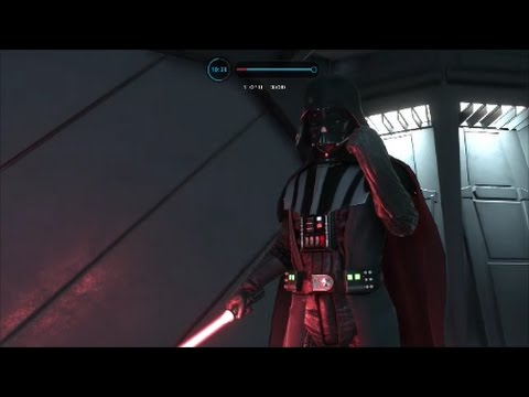 Star Wars Battlefront Battle Station 17 Darth Vader Gameplay