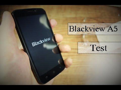 45€ Smartphone  Blackview A5 -  Review - Deutsch