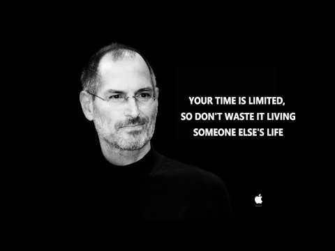 Great Steve Jobs speech! Your time is limited