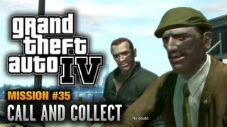 GTA 4 - Mission #35 - Call and Collect (1080p)