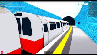 ROBLOX:Mind the Gap, DeepLevel Tube Train ride from Downing Square to Key North
