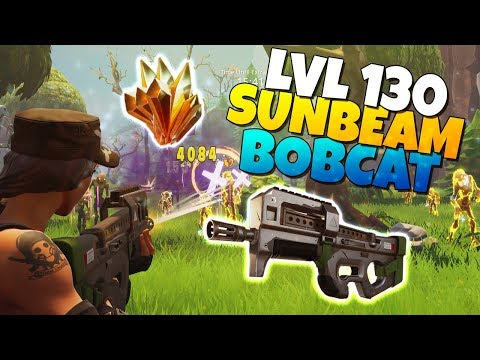 LVL 130 BOBCAT Assault Rifle IS IT GOOD? | Fortnite Save The World