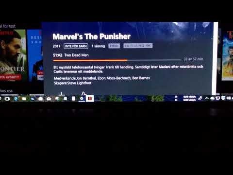 ATMOS on Netflix Windows 10 app