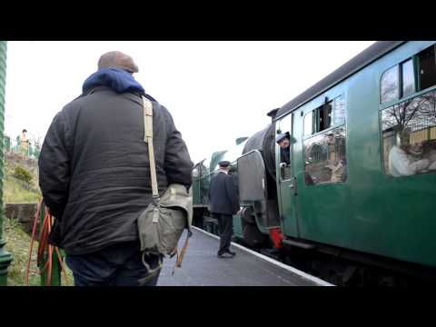 Watercress Line Spring Gala 14th February 2015 Part 1