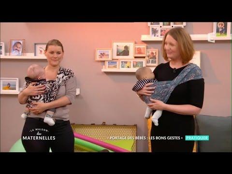 Portage des bébés : les bons gestes - La Maison Des Maternelles
