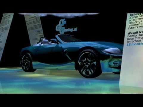 HD city car cleaning  CenterMedia centermedia 3d animation BMW Z4 animation 001