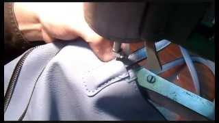 Машинка Версаль - шитье без лапки(Очень полезный способ шитья, особенно для тех кто занимается ремонтом сумок. Заходите в мою группу Вконта..., 2015-09-02T20:46:24.000Z)