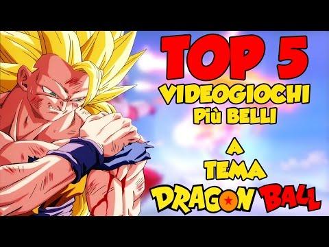 TOP 5 VIDEOGIOCHI più BELLI A TEMA DRAGONBALL