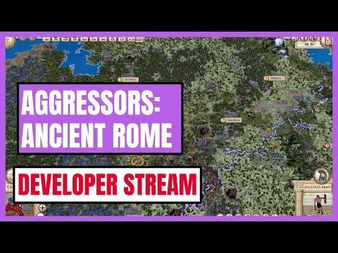Aggressor: Ancient Rome - Developer Stream