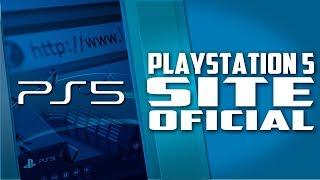 Playstation 5 lança SITE OFICIAL, e o PREÇO do Playstation 5?