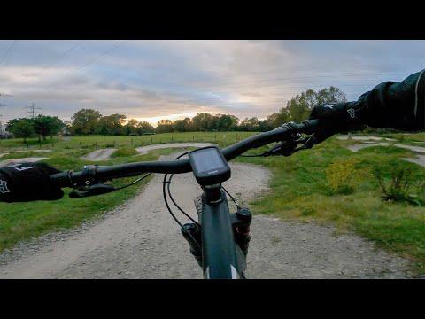 GoPro Hero9 Black Low Light Test - Manchester Uk - 2020 Trek Procaliber 9.6 Mtb