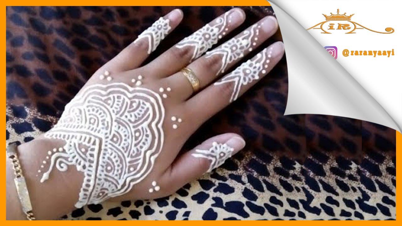 Belajar Melukis Henna Mehndi Dengan Lotion By Rara Henna Youtube
