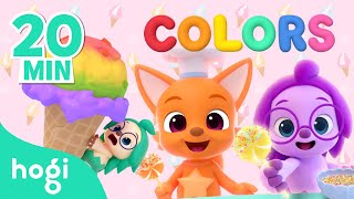 [ALL] Learn Colors Season 2 | +Compilation | Hogi Kids Colors | Play with Hogi & Pinkfong