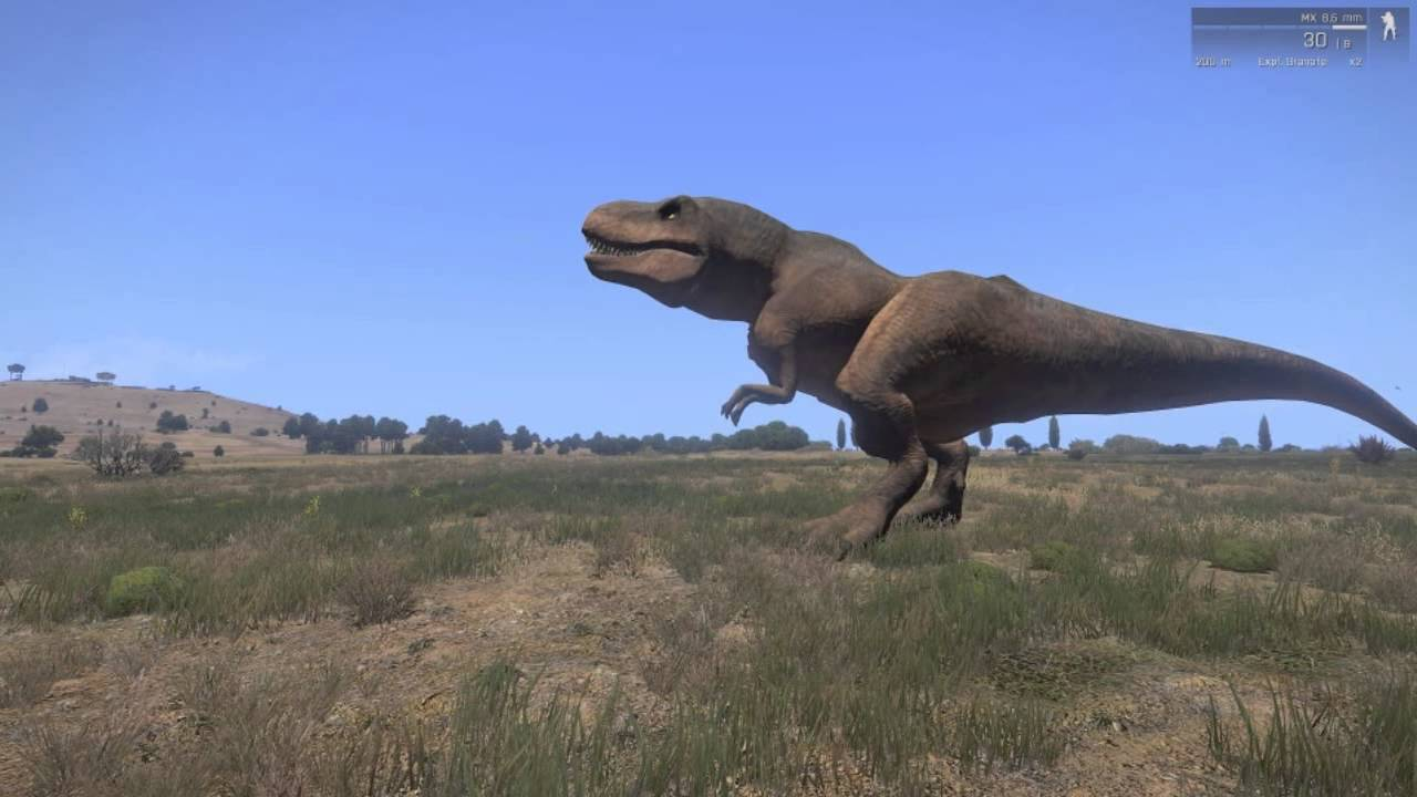 Here's That Arma 3 Dinosaur Mod You've Been Asking For | Rock Paper