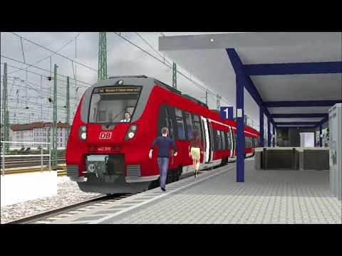 Train Simulator: German Class 442 (Timelapse) |