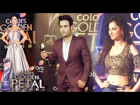 Team Shakti At 5th Colors Golden Petal Awards 2017 | Interview of Rubina Dilaikh & Ayub Khan