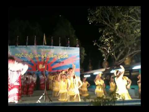 Karen New Year 2750 (Mahar Yangon) 1st Prize Winner of Don Dance