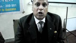 Gambar cover Chairman IIA Unnao giving feedback on training of Udyog Bandhu conducted by LBSIMDS