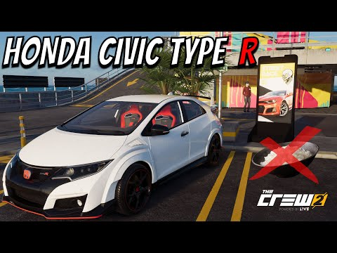 The Crew 2- Honda Civic Type R! [Viewers Request] |