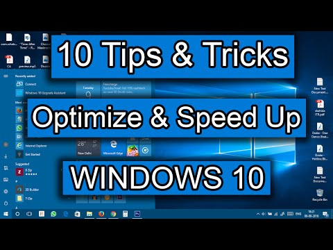 [10 Tips & Tricks] – How to speed Up Windows 10 | Increased Performance | Best Settings