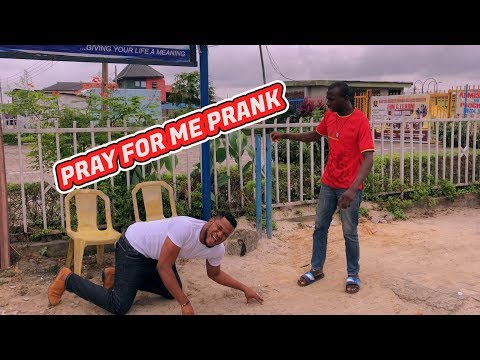 PRAY FOR ME PRANK