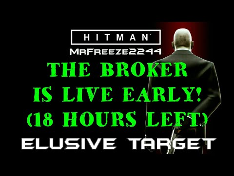 ELUSIVE TARGET THE BROKER IS LIVE RIGHT NOW!