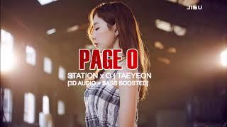 [3D+BASS BOOSTED] STATION X 0 태연 TAEYEON X 멜로망스 'Page 0' | jisv