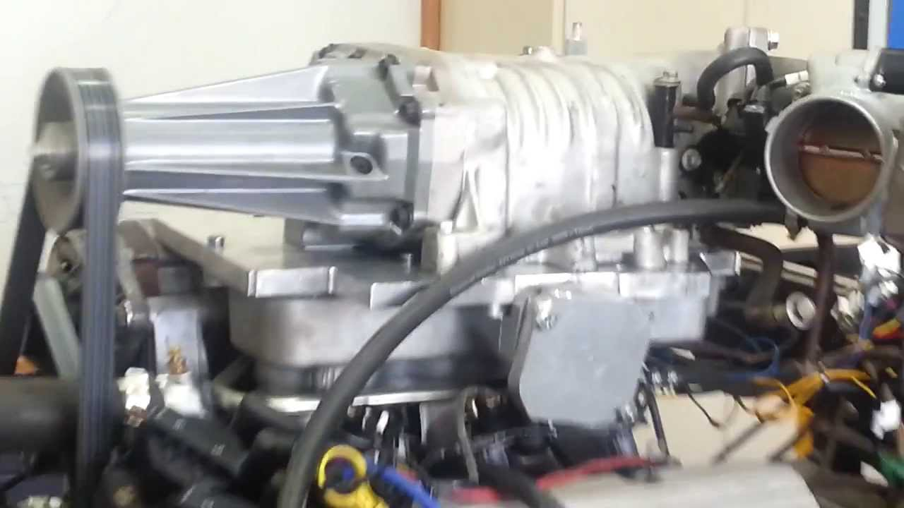 Holden V6 Ecotech With Bolt On Supercharger