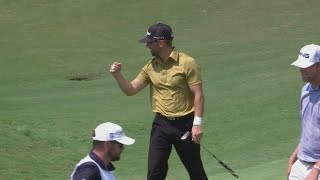 Joe Affrunti drops in birdie putt from downtown at Zurich