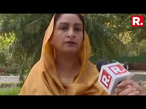Harsimrat Kaur Badal Speaks Exclusively To Republic TV | #JammuTerrorAttack