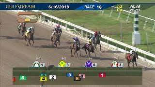 Gulfstream Park Race 10 | June 16, 2018